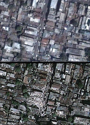 Haiti before and after