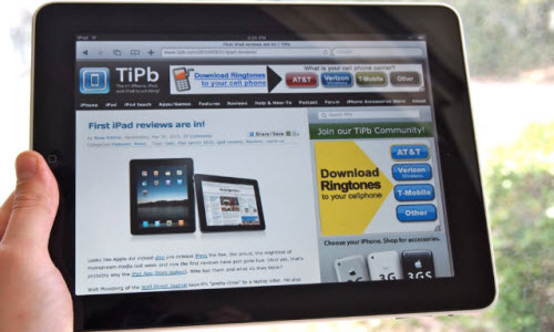 The iPad and Your Website