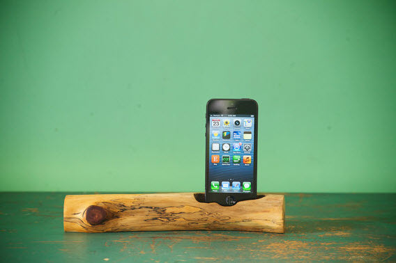 iphone wood charger