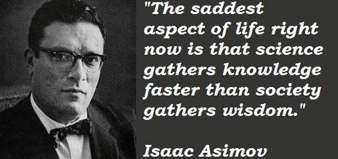 The Saddest Aspect of Life Right Now is…