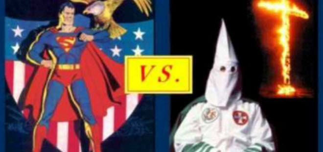 Superman Vs. The Ku Klux Klan. It Happened! Guess Who Won?